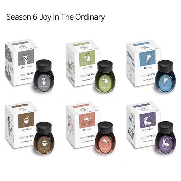 칼라버스 병잉크 Season6 Joy In The Ordinary